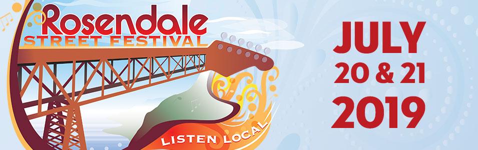 Rosendale Street Festival logo and text